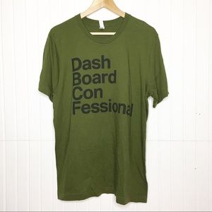 Dashboard Confessional   Tour Tee